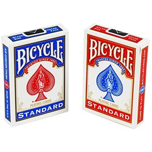 Bicycle Standard Face Playing Cards (2 Pack)|aiba
