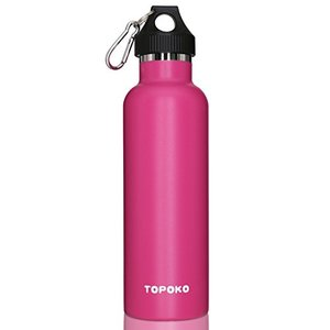 TOPOKO 25 oz Stainless Steel Vacuum Insulated Water Bottle, Keeps Drink Col|aiba