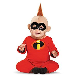Disney's the Incredibles: Baby Jack Jack Deluxe Toddler Costume ディズニーMr.インク aiba