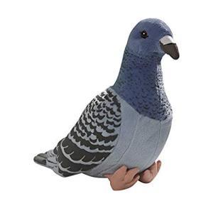 TAMMYFLYFLY 本物そっくりの鳩 ブルー 8インチ 23cm ぬいぐるみ ソフトおもちゃ ぬいぐるみ ぬいぐるみ aiba