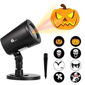 1byone Halloween Led Pattern Projection Lights Auto-Shifting Images & Switc|aiba