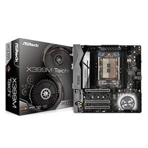 ASRock AMD X399チップセット搭載 Micro ATXマザ‐ボ‐ド X399M Taichi aiba