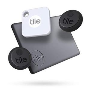 Tile(タイル) Slim 2020 Bluetooth対応探し物トラッカ‐ 薄型 流線形 財布 パスポ‐ト 電子デバイスなどに 防水並行輸入 aiba