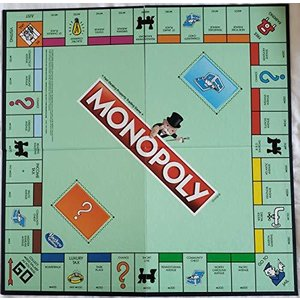 Monopoly Classic Replacement Board by Hasbro並行輸入品 aiba