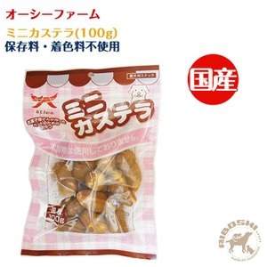 オーシーファーム O.C.Farm ミニカステラ 100g 犬用 おやつ  【配送区分:W】|aiboshi