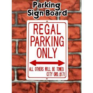 パーキングサイン【REGAL PARKING ONLY】 リーガルパーキングボード★ネコポス発送可能★|aicamu