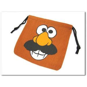 トイストーリーでおなじみ!Mr.Potato Headの巾着袋! ご入園に必須のきんちゃく袋!トイストーリーグッズ ポテトヘッド|aicamu