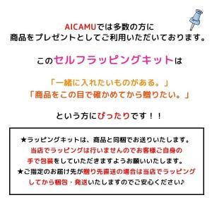 かわいいセルフラッピングキット 簡単にプレゼント包装出来るセット S/M/L/LLから選べる巾着型簡易ラッピングセット ネコポス発送可能|aicamu|03