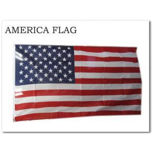 【アメリカ フラッグ】 AMERICA星条旗 縦:約91cm 横:約152cm 国旗 バナー インテリアに!★ネコポス発送可能★|aicamu