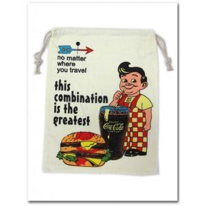 BIGBOYの巾着袋(Lサイズ) ビッグボーイ 園児に必須のきんちゃく袋 学校の給食袋 体操服入れにも調度いい|aicamu