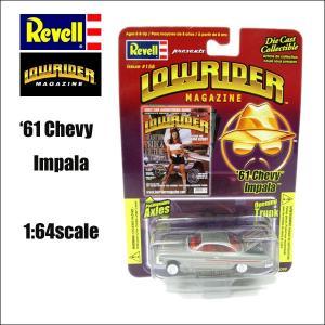 1/64ダイキャストミニカー 1961 Chevy Impala (LOWRIDER MAGAZINE)#158 シェビーインパラ アメ車|aicamu