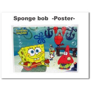 スポンジボブ グッズ ポスター SPONGE BOB(ボブとパトリック) 縦:約36.5cm×横:約26cm|aicamu