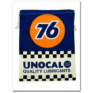 【UNOCAL76の巾着袋(Lサイズ)】 ユノカルユニオン76 入学準備 園児に必須のきんちゃく袋!学校の給食袋、体操服入れにも調度いい!|aicamu