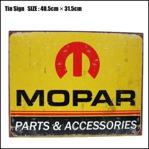 Tin Sign【MOPAR】 アメリカンでおしゃれなブリキの看板/サインプレートモパー|aicamu