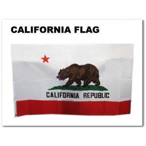 【カリフォルニア フラッグ】 CALIFORNIA 縦:約91cm 横:約152cm 国旗 バナー インテリアに ネコポス発送可能|aicamu
