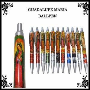 GUADALUPE MARIAボールペン 全11種 グアダールペ マリア様 雑貨 メキシコ グッズ ネコポス発送可能|aicamu