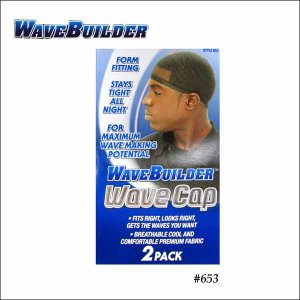 【WAVE BUILDER WAVE CAP#653 2枚セット】ウェイブキャップウェーブスカルドゥーラグメッシュ★ネコポス発送可能★|aicamu
