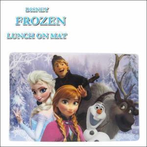 ディズニーアナと雪の女王 ランチョンマット disney FROZENグッズ/エルサオラフ防水プラスチック素材お食事シート|aicamu