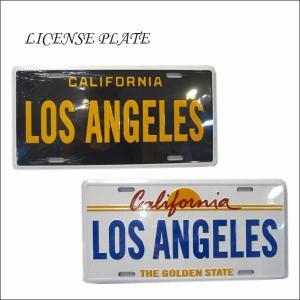 【CALIFORNIA LOS ANGELESナンバープレート】全2種類 ライセンスプレートカリフォルニアロサンゼルス|aicamu