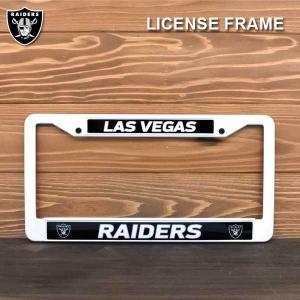 NFL OAKLAND RAIDERSプラスチックナンバーフレームUSサイズ(ホワイト) アメリカ直輸入 オークランドレイダース公式グッズ ライセンスフレームアメリカサイズ|aicamu