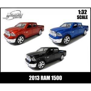 ミニカー 1/32 プルバック 2013 RAM 1500 全3色 DODGEダッジラム アメ車|aicamu