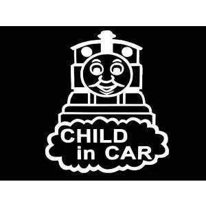 ステッカー きかんしゃトーマスCHILD IN CAR(全5色)車 セーフティー|aicamu