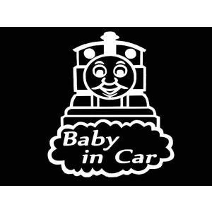 ステッカー きかんしゃトーマスBABY IN CAR(全5色)車 セーフティー|aicamu