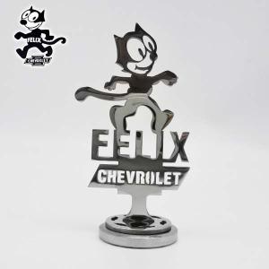 フィリックスダッシュボードオーナメントアクセサリーCHEVROLET FELIX THE CATシボレー オシャレカスタムパーツアメリカ直輸入|aicamu