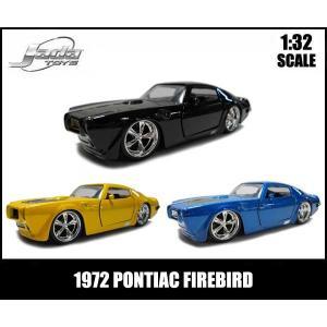 1/32スケール プルバックミニカー【1972 PONTIAC FIREBIRD】(全3色)1972年式ポンティアック ファイヤーバード アメ車【JADATOYS社製】1:32|aicamu