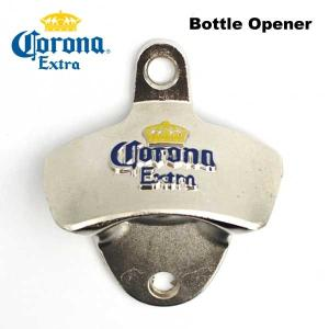 【Corona Extra ボトルオープナー】 メキシコビールコロナエキストラ固定式栓抜き|aicamu