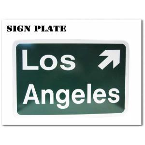 Los Angeles サインプレート 縦約30.5cm×横約45.7cm ロサンゼルスサインボード|aicamu