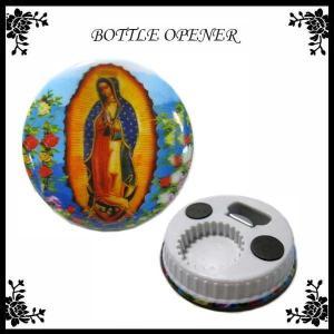 グアダルーペ マリア ボトルオープナー GUADALUPE MARIA メキシコ雑貨 マリア様グッズ 栓抜き ネコポス発送可能|aicamu