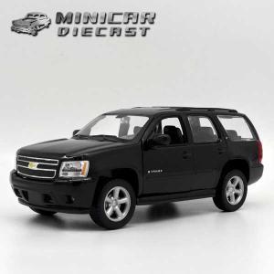 ミニカー 1/24 箱入り 2008 CHEVROLET Tahoe ブラック アメ車 シボレー タホ|aicamu