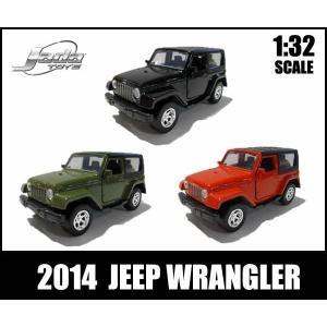 1/32 プルバック ミニカー2014 JEEP WRANGLER(全3色)73年式 ジープ ラングラー アメ車【JADATOYS社製】|aicamu