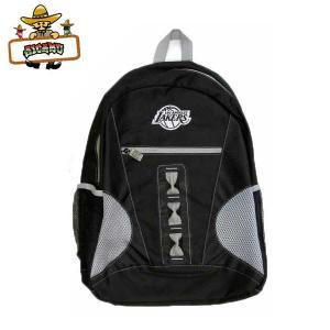 ロサンゼルスレイカーズ バックパック(フロントジップ/メッシュ)NBA LOSANGELES LAKERSリュックサックバッグ|aicamu