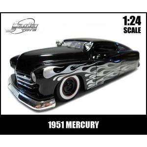 ミニカー 1/24 箱入り 1951 MERCURY フレームス ブラック マーキュリー アメ車|aicamu