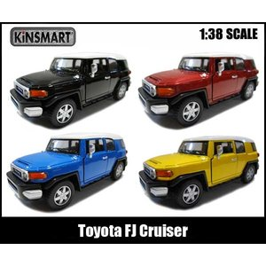 ミニカー 1/36 プルバック Toyota FJ Cruiser 全4色 トヨタFJクルーザー|aicamu