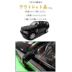 【アウトレット品】ミニカー 1/24 箱入り LAND ROVER RANGE ROVER(ブラック) ランドローバーレンジローバー|aicamu