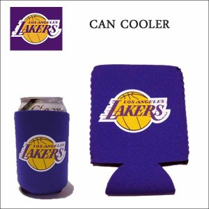 NBA LOSANGELES LAKERS 缶クーラー ビール 缶 ドリンク 保温 保冷 ロサンゼルスレイカーズ|aicamu