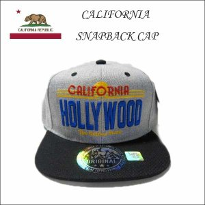 #45カリフォルニアハリウッド スナップバックキャップ 大人サイズ CALIFORNIA HOLLYWOOD 帽子|aicamu
