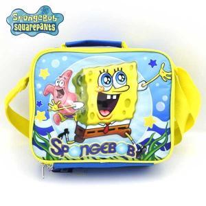 スポンジボブ ショルダーバッグ spongebob スクールバッグ ランチバッグ カバン 子供用キッズ|aicamu