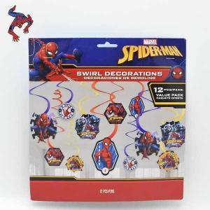 スパイダーマン #02お部屋のデコレーション飾り お誕生日 パーティー 装飾 バースデー SPIDERMAN グッズ ネコポス発送可能|aicamu