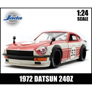 ミニカー 1/24  1972 DATSUN 240Z レーシング仕様(レッド)1972年式ダットサン240Z 日産NISSAN|aicamu