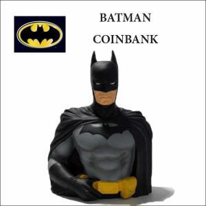 バットマン 貯金箱 アメリカ直輸入品 ソフビフィギュア コインバンク BATMAN アメコミ|aicamu