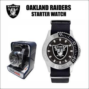 オークランドレイダース 腕時計(Game Time/Starter Watch)専用ケース入り NFL OAKLAND RAIDERS|aicamu