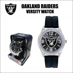 オークランドレイダース 腕時計(Game Time/Versity Watch)専用ケース入り NFL OAKLAND RAIDERS|aicamu