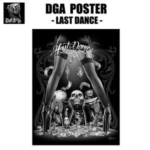 DGAポスター(Last Dance)60cm×45cm アメリカ直輸入 DavidGonzalesArt IMPALA チカーノ ローライダー  インテリア雑貨|aicamu