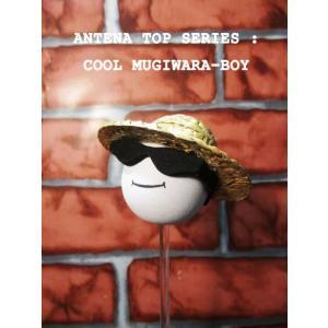 アンテナトップ COOL!ボーイ 自動車だけじゃなく、自転車やインテリアにも使えるアンテナボール!クールムギワラLOCS メキシカン|aicamu