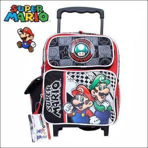 スーパーマリオ 2WAYキャリーバッグ(35cm)リュックサック バックパック 遠足・子供用 習い事に MARIO小学校小学生旅行|aicamu
