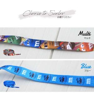 m&m's 靴ひも 長さ約114cm 全5種類 キャラクター m&m'sグッズ アメリカ直輸入品 靴紐  ネコポス発送可能|aicamu|02